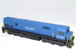 Class 34 Spoornet Blue # 34 406 - HO (Powered)