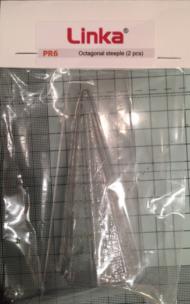 Octagonal Steeple Plastic Mould PR6 - OO/HO