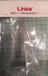 Square Steeple Plastic Mould PR5 - OO/HO