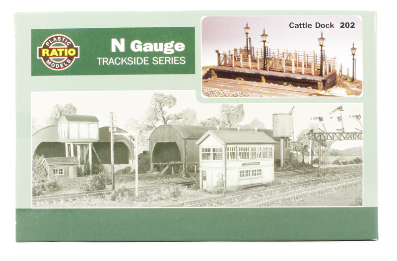 Cattle dock - N scale