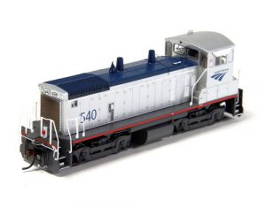 Amtrak EMD SW1500 switcher (#541) - HO (Powered)