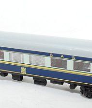 Old Blue Train Dining car