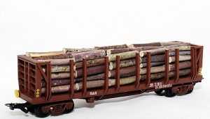 STJ Rough timber wagon (Frateschi) - HO