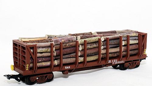 STJ Rough timber wagon (Frateschi) - HO