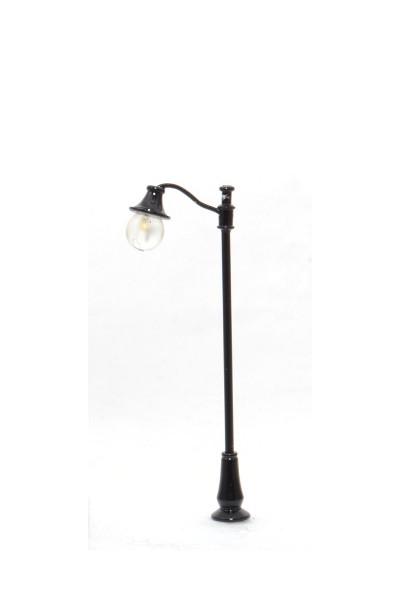 Platform lamppost, vintage, single (adjustable) - HO/OO