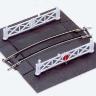 ST-266 #1 Radius Curved Level Crossing - HO/OO