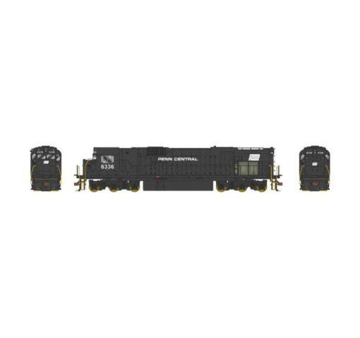 ALCO diesel locomotive with ESU sound