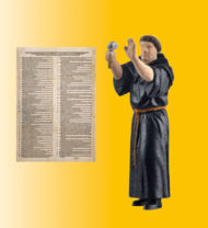 Animated Martin Luther Figure