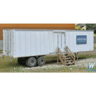 Construction Site Storage Trailer - HO
