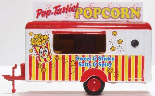 Concession Trailer (Popcorn) - HO