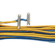 2 Rail Joiners with Wires - Code 83/100