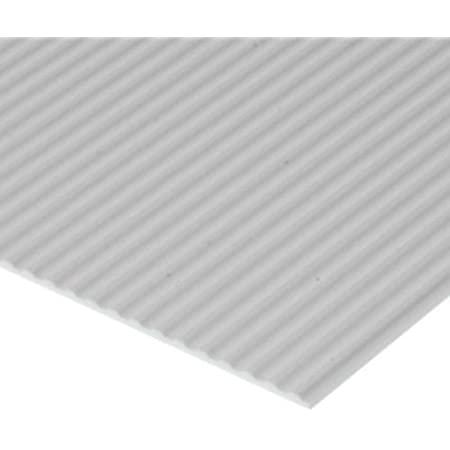 Sheet Styrene, Metal Siding (0.75 mm) - 1 Sheet