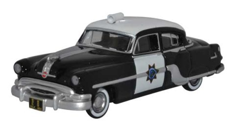 1954 Pontiac Chieftain 4-Door Sedan (California Highway Patrol) - HO