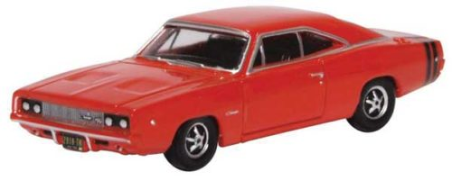 1968 Dodge Charger (Red) - HO