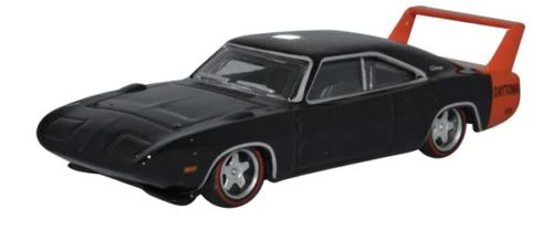1969 Dodge Charger Daytona (Black) - HO
