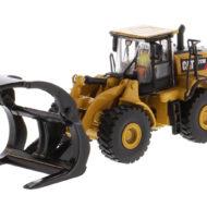 CAT 972M Wheel Loader with Log Fork - HO