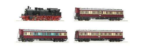 """""""Ruhr Schnellverkehr"""" Steam and Passenger set (4 pcs) - HO"""