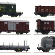 """Gotthardbahn"" Freight Wagon set (6 pcs) - HO"