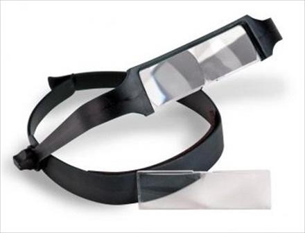 Hands Free Magnifier w/ 2 LED lights