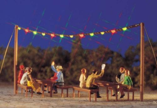 Summer Night Party Scene - HO